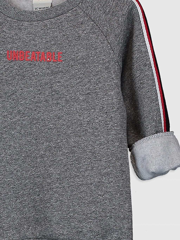 Erkek Çocuk Erkek Çocuk Baskılı Sweatshirt
