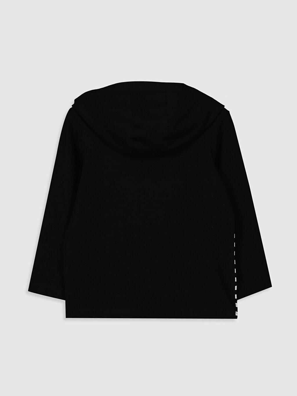 %100 Pamuk %100 Pamuk Kapüşon Yaka Standart Penye Baskılı Kapüşonsuz Tişört Uzun Kol Kız Çocuk Baskılı Kapüşonlu Tişört