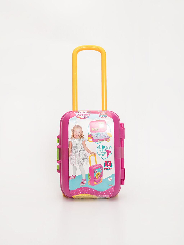 Kız Çocuk Kız Çocuk Valizli Oyuncak Güzellik Seti