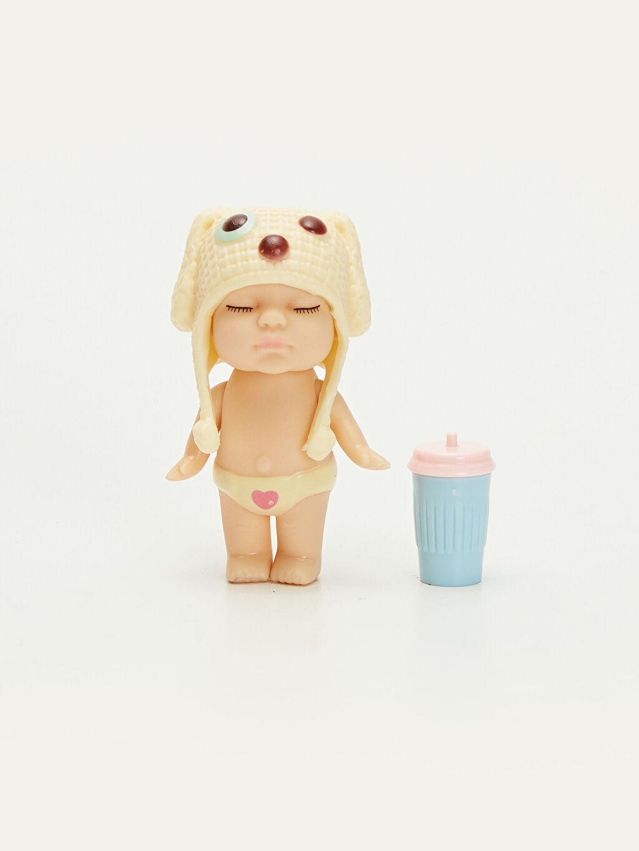 Plastik Oyuncak Bebek Kız Çocuk Uykucu Bebek Seti