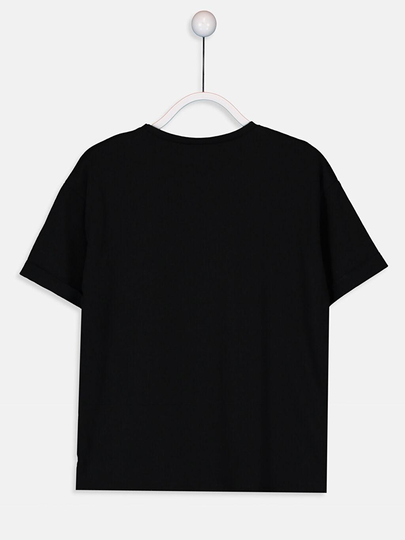 Kız Çocuk Kız Çocuk Pamuklu Baskılı Tişört