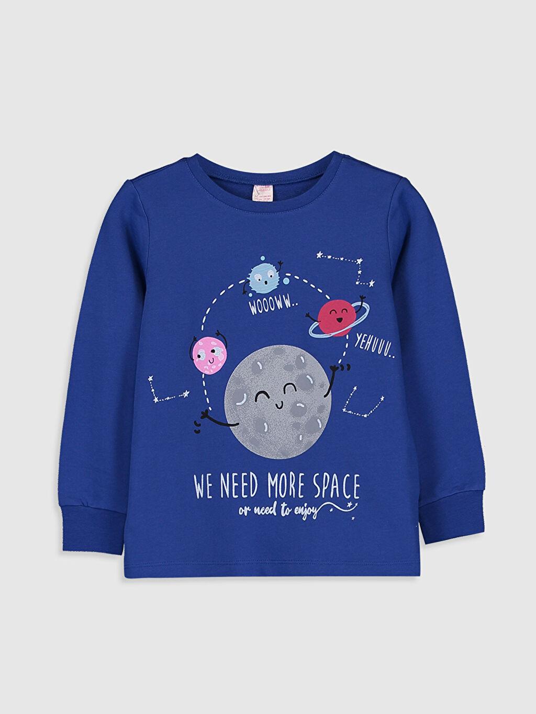 Kız Çocuk Kız Çocuk Baskılı Pamuklu Pijama Takımı