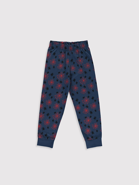 %100 Pamuk Erkek Çocuk Spiderman Pijama Takımı