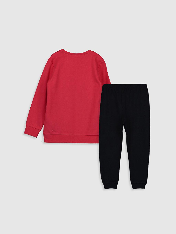 %100 Pamuk %100 Pamuk İki İplik Standart Pijama Takım Minnie Mouse Kız Çocuk Mickey Mouse Pamuklu Pijama Takımı