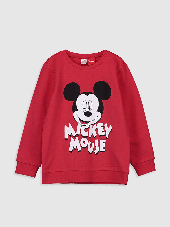 Kız Çocuk Kız Çocuk Mickey Mouse Pamuklu Pijama Takımı