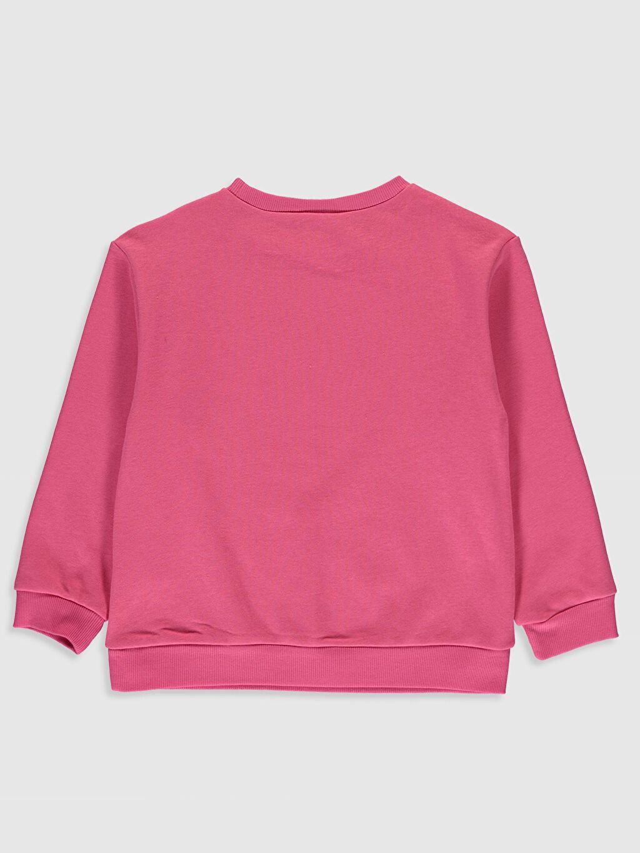 %68 Pamuk %32 Polyester Sweatshirt Kapüşonsuz İnce Sweatshirt Kumaşı Düz Kız Çocuk Baskılı Sweatshirt