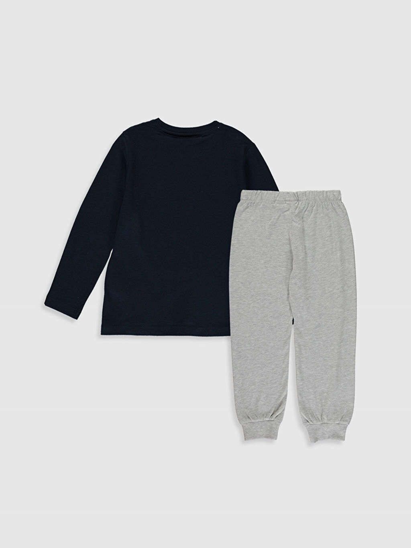 %100 Pamuk %100 Pamuk Süprem Standart Pijama Takım Günlük Erkek Çocuk Fenerbahçe Amblemli Pamuklu Pijama Takımı