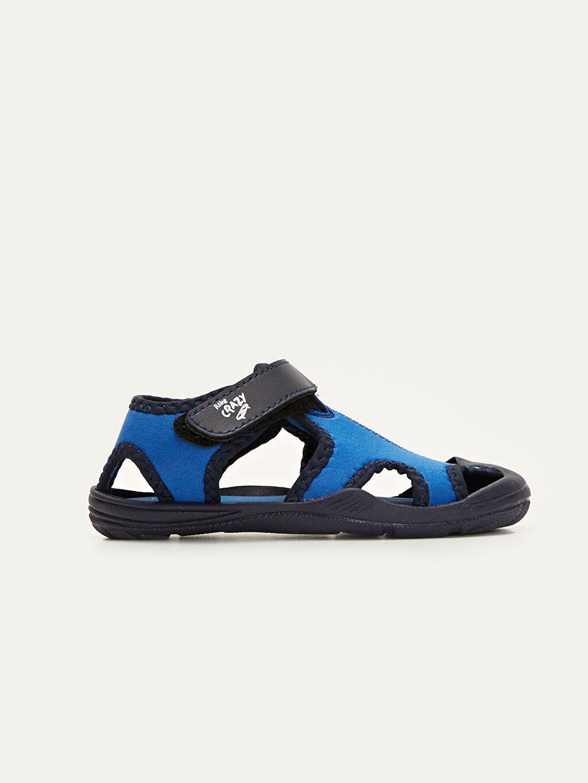 Mavi Erkek Çocuk Cırt Cırtlı Sandalet 9WQ736Z4 LC Waikiki