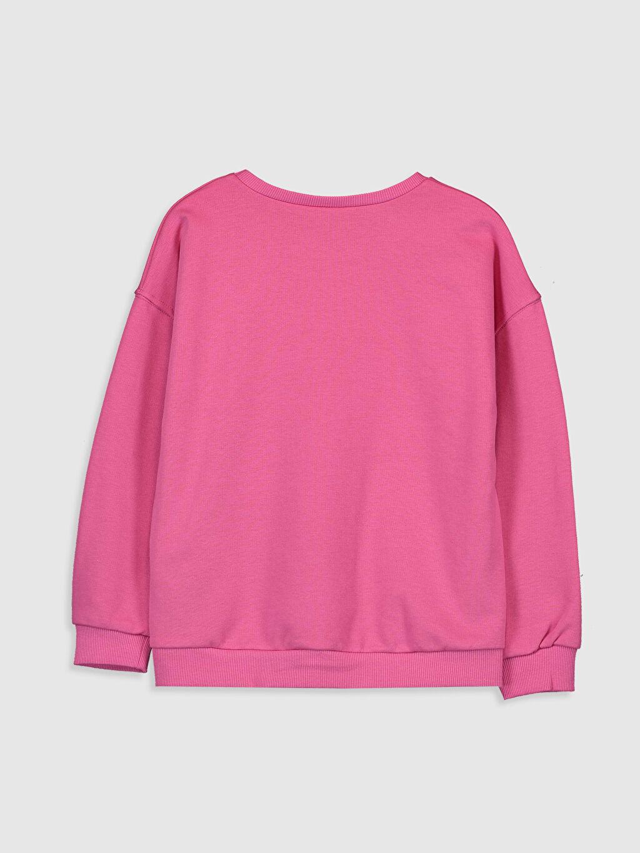 %67 Pamuk %33 Polyester Kalın Sweatshirt Kumaşı Sweatshirt Kapüşonsuz Düz Kız Çocuk Baskılı Sweatshirt