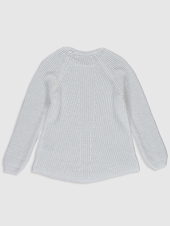 %94 Akrilik %3 Polyester %3 Metalik iplik Aile Koleksiyonu Kız Çocuk Kalın Triko Kazak