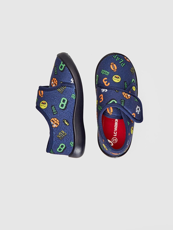 Tekstil malzemeleri Tekstil malzemeleri Günlük Kısa Penye Astar Panduf Cırt Cırt Erkek Çocuk Baskılı Ev Ayakkabısı