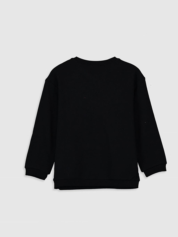 Kız Çocuk Kız Çocuk Pul İşlemeli Sweatshirt