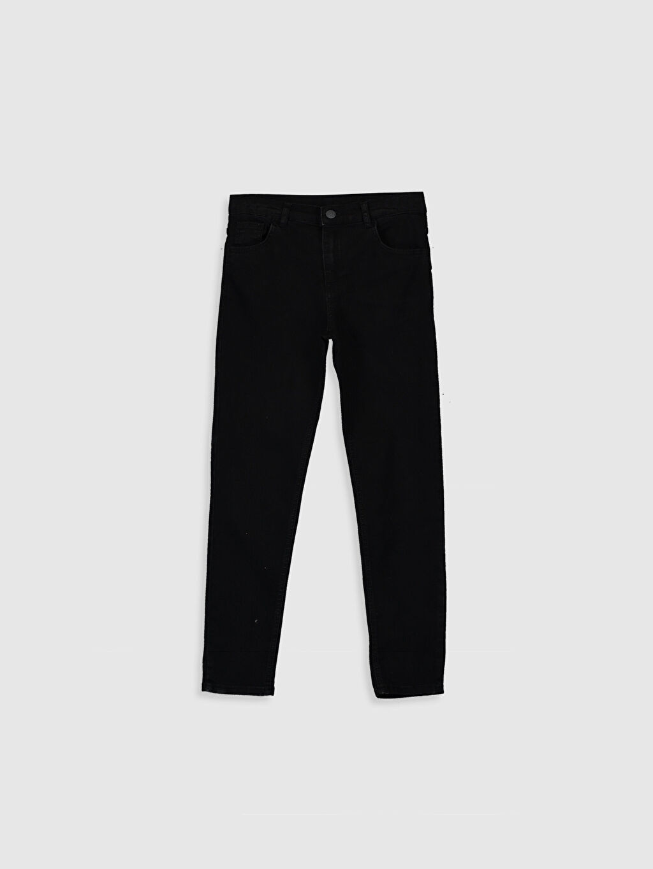 Siyah Erkek Çocuk Skinny Jean Pantolon 9WY066Z4 LC Waikiki