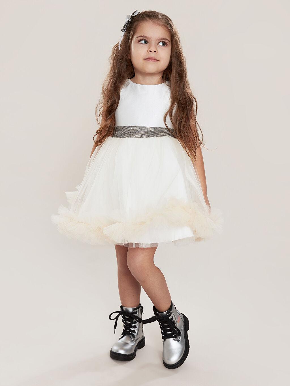 Beyaz Daisy Girl Kız Çocuk Kostüm 9WB712Z4 LC Waikiki