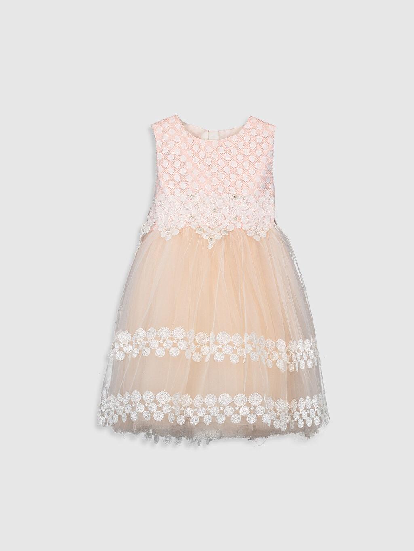 Baskılı Elbise Daisy Girl Kız Çocuk Kostüm