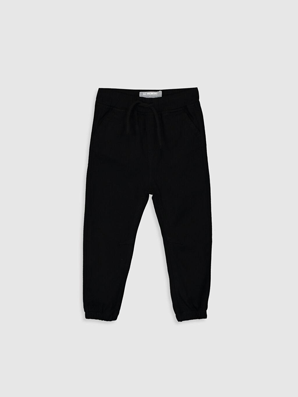 Siyah Erkek Bebek Jogger Pantolon 9W0480Z1 LC Waikiki