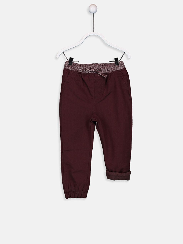 %97 Pamuk %3 Elastan %100 Polyester Pantolon Polar Astar Gabardin Aksesuarsız Bol %100 Pamuk Erkek Bebek Gabardin Jogger Pantolon