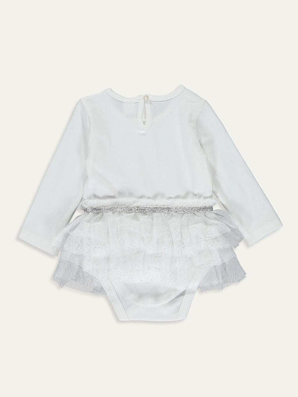 %94 Pamuk %6 Elastan Tişört Yüksek Pamuk İçerir Kız Bebek Çıtçıtlı Body