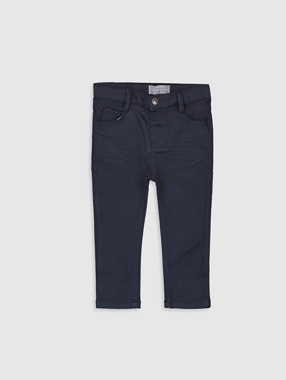 Antrasit Erkek Bebek Slim Fıt Kalın Pantolon 9W2675Z1 LC Waikiki