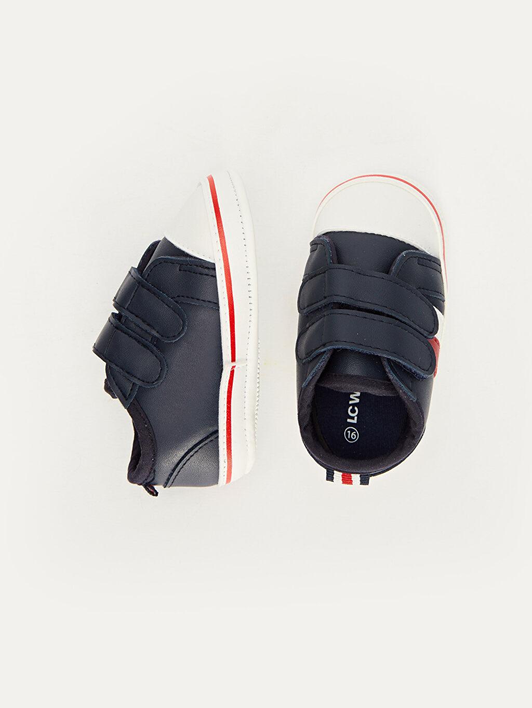 Erkek Bebek Cırt Cırtlı Ayakkabı ve Pantolon Askısı