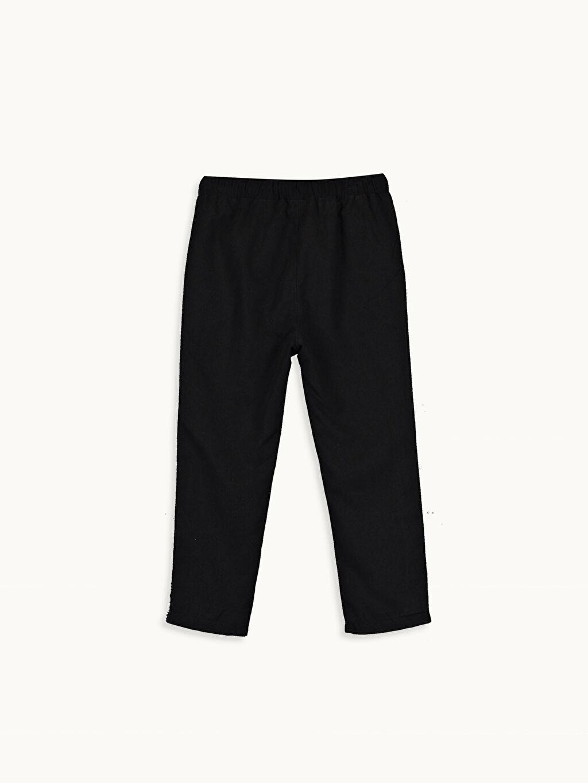 %100 Polyester %100 Polyester Pantolon Aksesuarsız Penye Astar Mikrofiber Erkek Bebek Pantolon