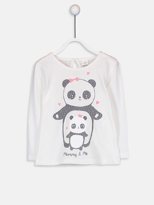 Kız Bebek Pamuklu Tişört 2'li