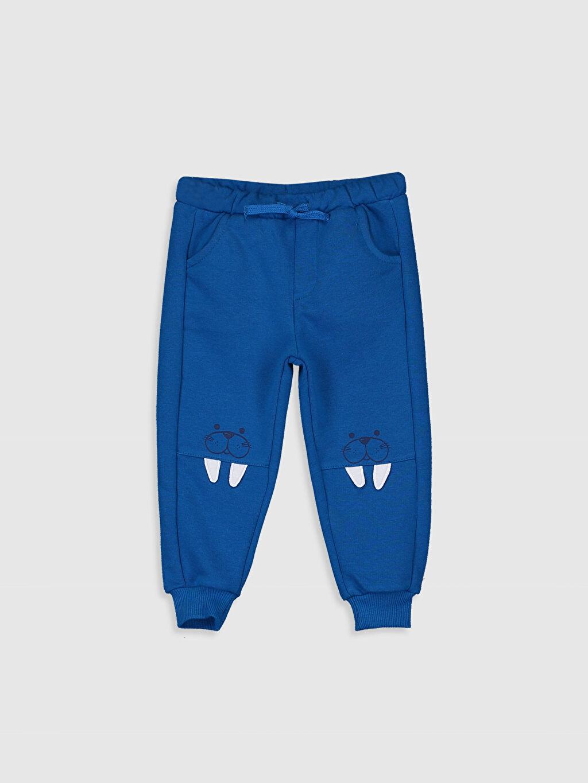 %65 Pamuk %35 Polyester Orta Kalınlık Eşofman Altı Düz Kalın Sweatshirt Kumaşı Standart Erkek Bebek Jogger Eşofman Altı
