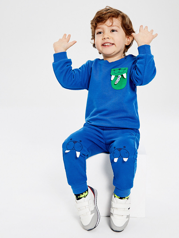 Mavi Erkek Bebek Jogger Eşofman Altı 9W5752Z1 LC Waikiki