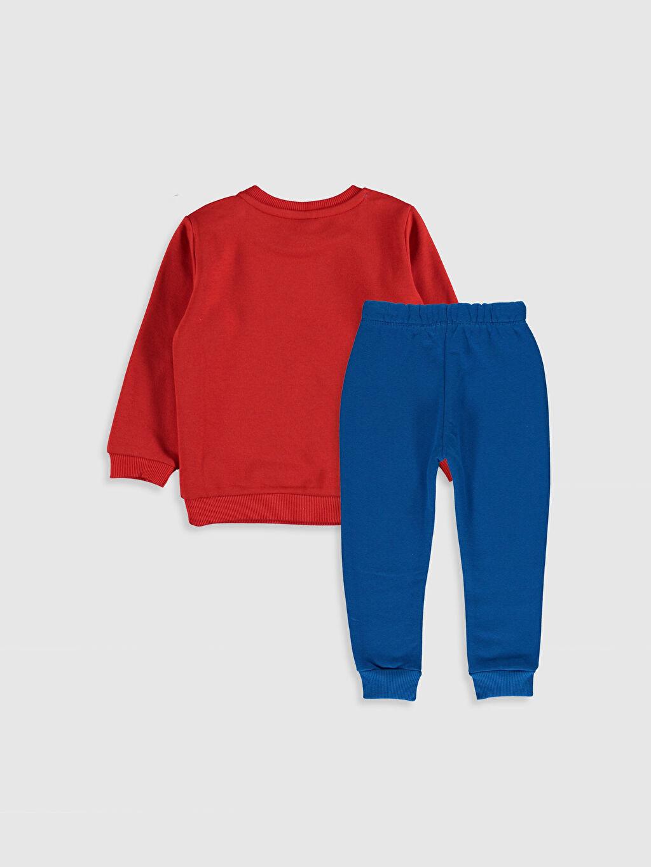 %100 Pamuk %87 Pamuk %13 Polyester Uzun Kol %100 Pamuk Günlük Orta Kalınlık Üç İplik İçi Tüylü Düz Takım Aksesuarsız Standart Erkek Bebek Desenli Sweatshirt ve Pantolon