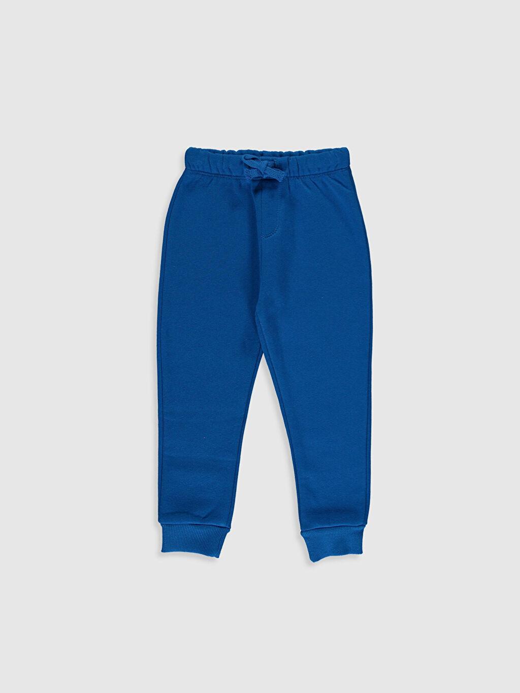 Erkek Bebek Desenli Sweatshirt ve Pantolon