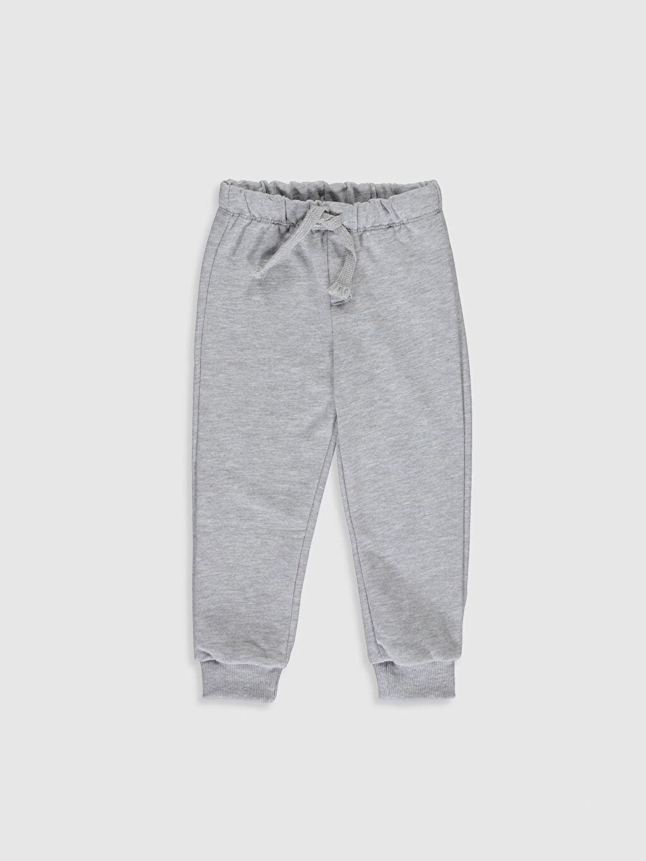 Erkek Bebek Pamuklu Swearshirt ve Pantolon