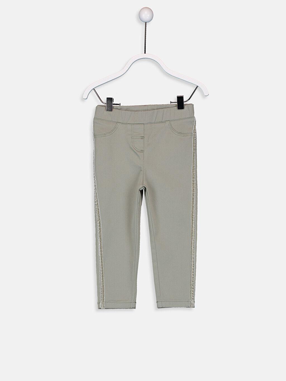 Haki Kız Bebek Pantolon 9W7025Z1 LC Waikiki