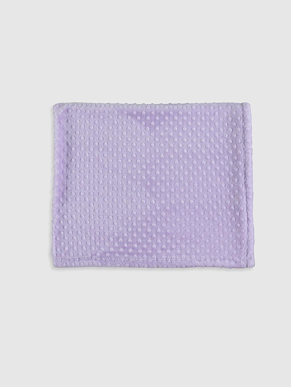 %100 Polyester Bebek Battaniyesi Düz Pelüş Kız Bebek Pelüş Battaniye