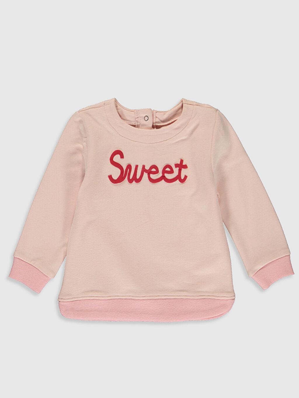 Kız Bebek Kız Bebek Sweatshirt ve Etek Takım
