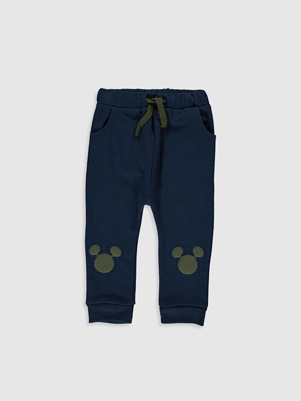 Lacivert Erkek Bebek Sweatshirt ve Pantolon