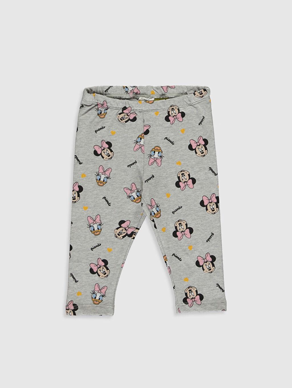 Kız Bebek Kız Bebek Disney Baskılı Pantolon 2'li