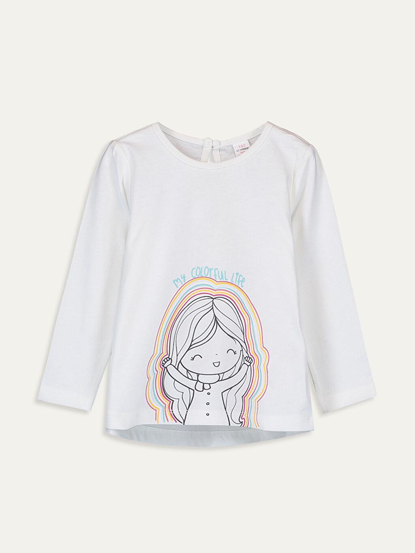 Kız Bebek Kız Bebek Pamuklu Tişört 2'li