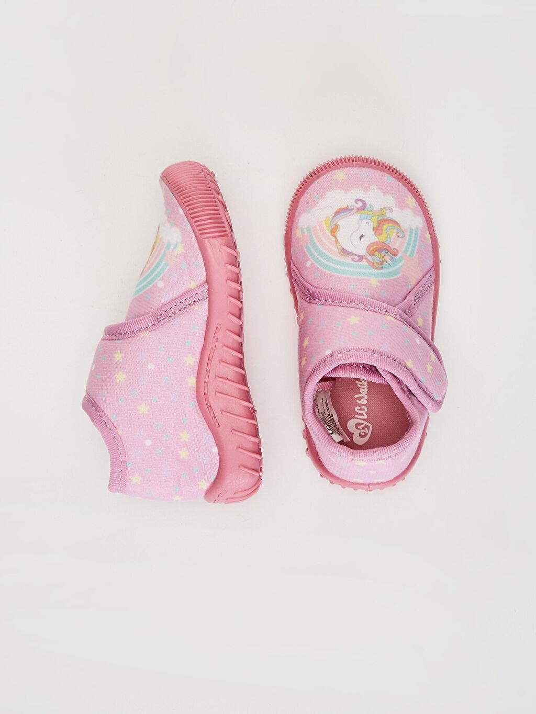 %0 Tekstil malzemeleri (%100 poliester) Frozen Kısa Panduf Kumaş Astar Kısa(0-2cm) Cırt Cırt Kız Bebek Cırt Cırtlı Ev Ayakkabısı