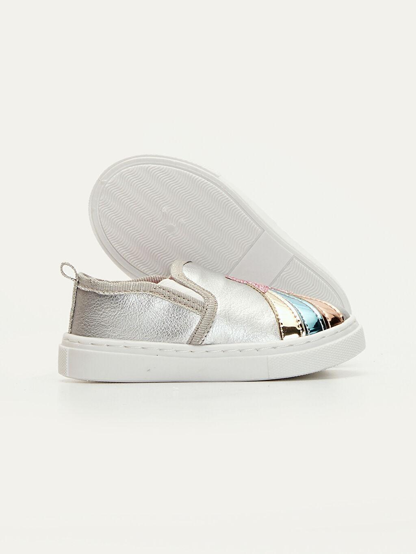 Kız Bebek Kız Bebek Yıldız Aplikeli Ayakkabı