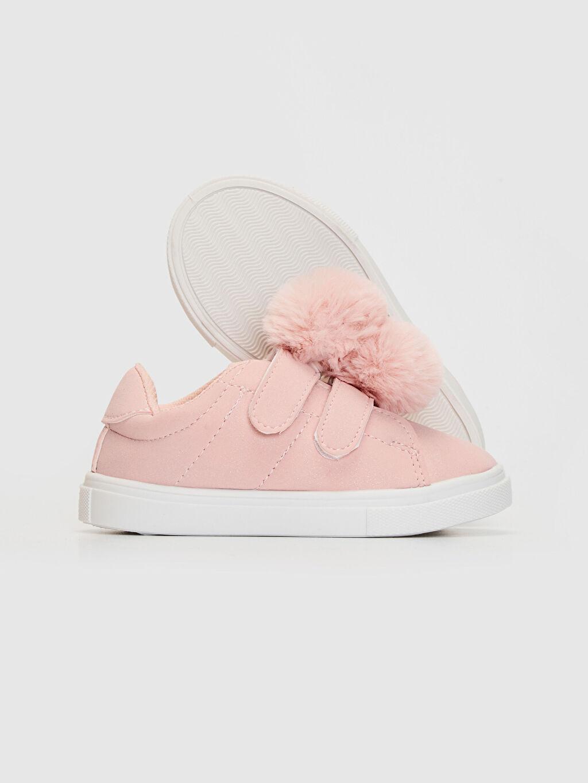 Kız Bebek Kız Bebek Ponponlu Günlük Spor Ayakkabı