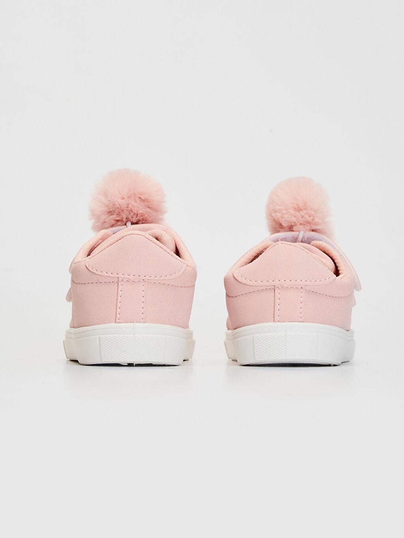Kız Bebek Ponponlu Günlük Spor Ayakkabı