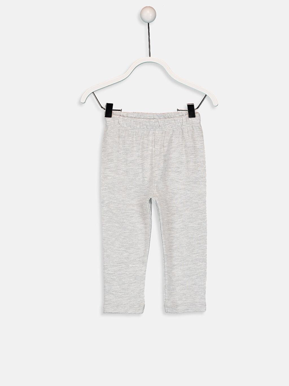 Kız Bebek Baskılı Pijama Takımı 4'lü