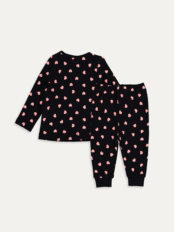 %100 Pamuk %100 Pamuk %100 Pamuk Standart Pijama Takım İnterlok Kız Bebek Pamuklu Pijama Takımı