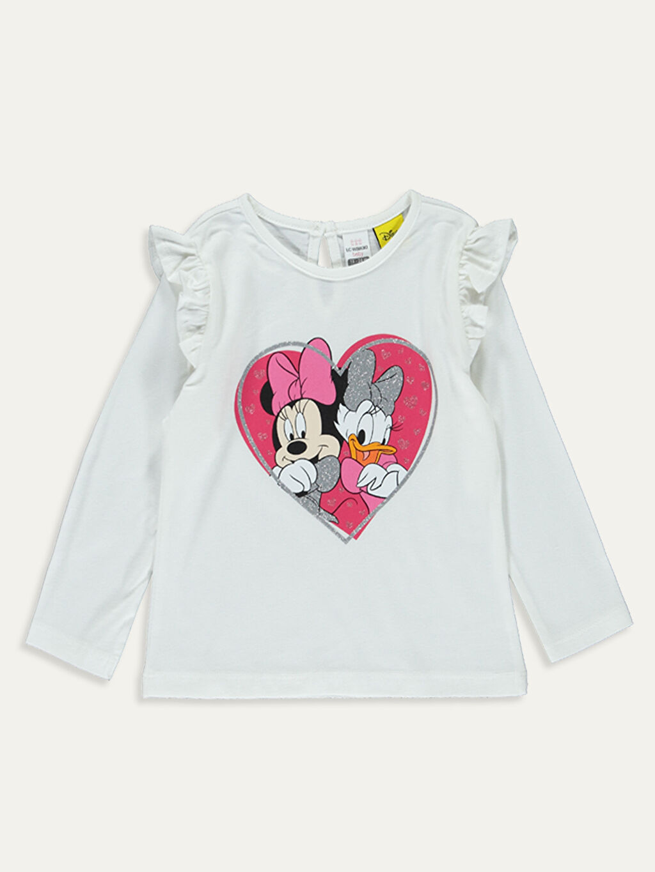 Kız Bebek Disney Baskılı Takım 2'li