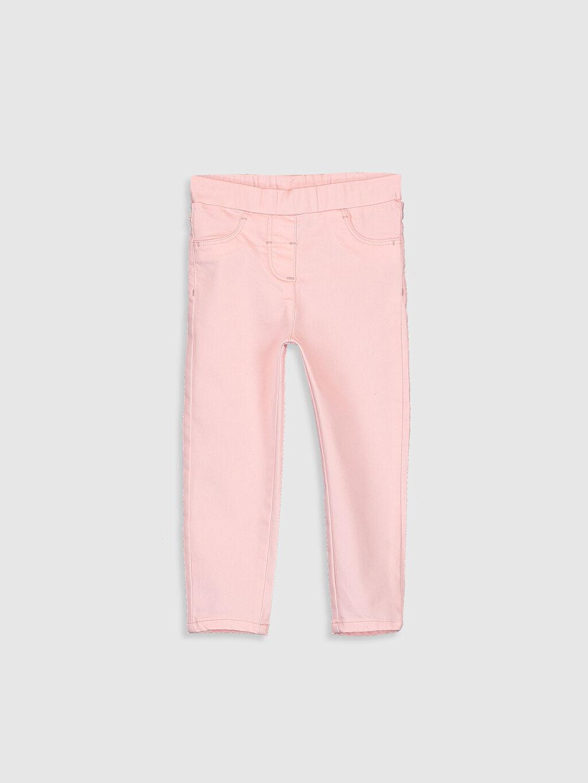 Kız Bebek Poplin Pantolon 2'li