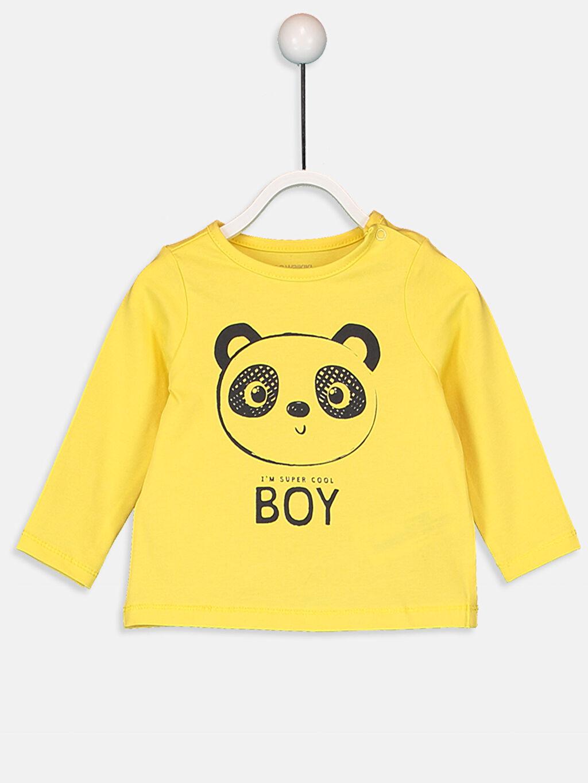Erkek Bebek Yenidoğan Baskılı Tişört 2'li