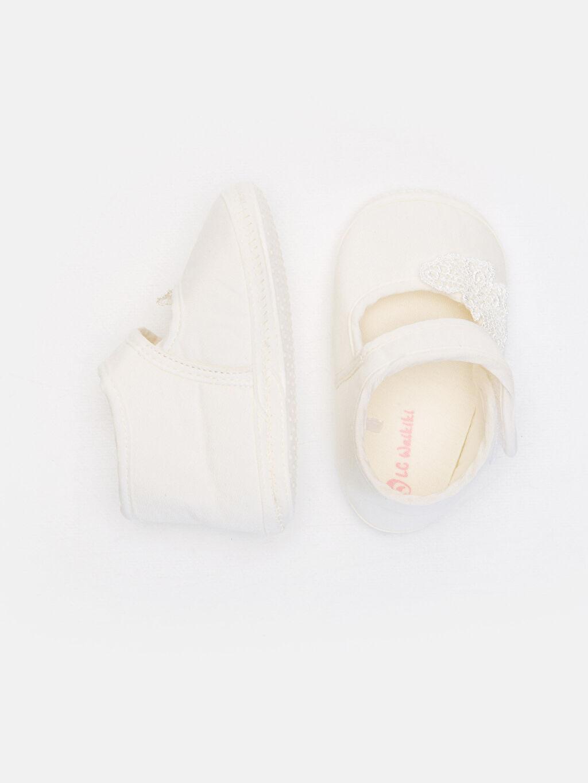 %0 Tekstil malzemeleri (%100 poliester) Işıksız Pamuk Astar Yürümeyen Cırt Cırt Kız Bebek Cırt Cırtlı Ayakkabı