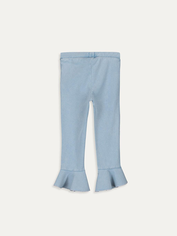 %72 Pamuk %23 Polyester %5 Elastan Standart Düz Tayt İnce Sweatshirt Kumaşı Kız Bebek Pamuklu Tayt