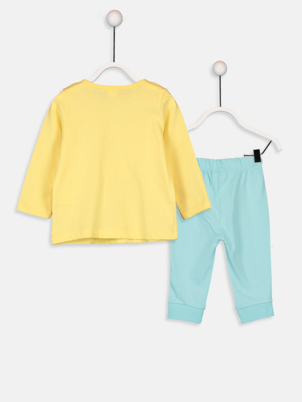%100 Pamuk %100 Pamuk %100 Pamuk Süprem Standart Pijama Takım Kız Bebek Pijama Takımı
