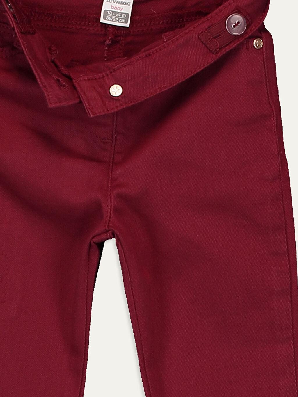 Kız Bebek Kız Bebek Gabardin Pantolon